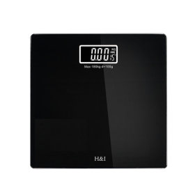 Digital Scale circular type/Rectangular color scale/Body fat scale