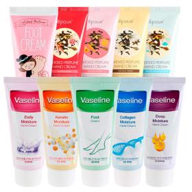 [FOODAHOLIC] Collagen moisture hand cream / 100 ml / Acacia / Snail / Olive / Lemon / Shea butter /