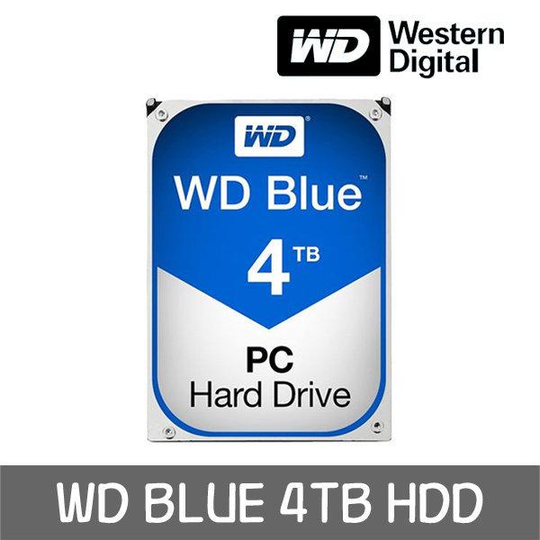 WD Blue 4TB HDD WD40EZRZ +WD正品 공식판매점+ 상품이미지
