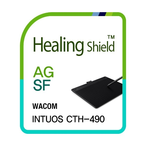 와콤 인튜어스 CTH-490 AG 액정보호필름1매+외부 세트 상품이미지