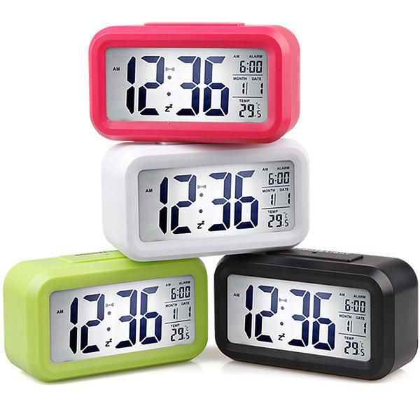 탁상시계 건전지포함 LED시계 7가지기능 상품이미지