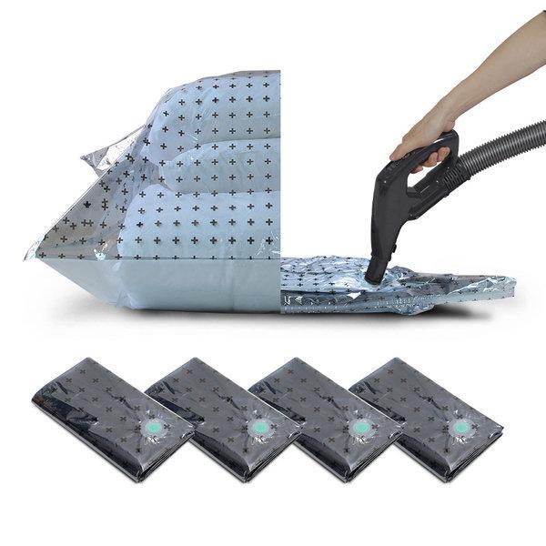 마법 이불압축팩 국산 알루미늄 증착 4P 대형세트 상품이미지
