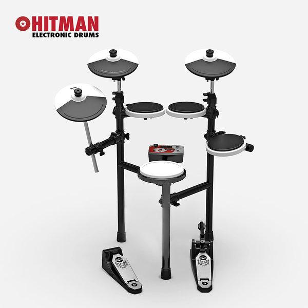 전자드럼 HITMAN HD-3M 림샷 심벌쵸크 (메쉬스네어) 상품이미지