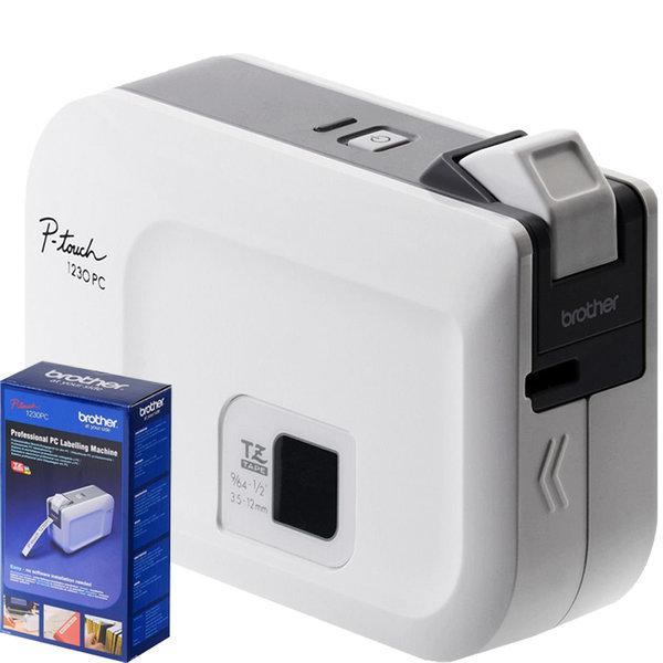 BROTHER PC 라벨 메이커 PT-1230PC Label Printer 상품이미지