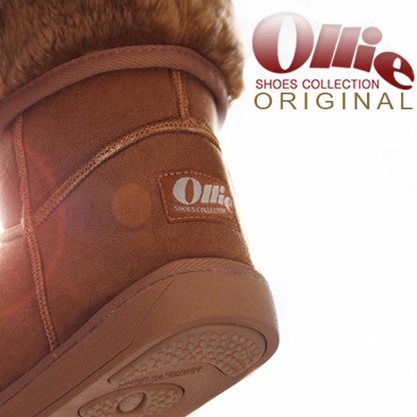 Ollie+정품올리 털부츠 천연가죽 스웨이드 여성키높이 상품이미지
