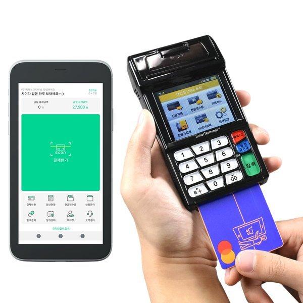 무선 카드단말기 휴대용카드기 체크기 카드결제기 상품이미지