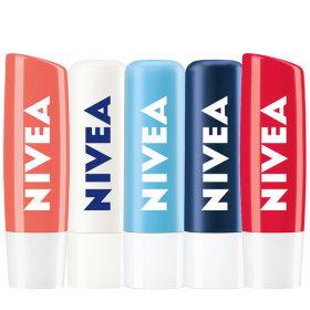 [NIVEA] Lip balm collection / creates moisture barrier / scented / colored / nourishing /