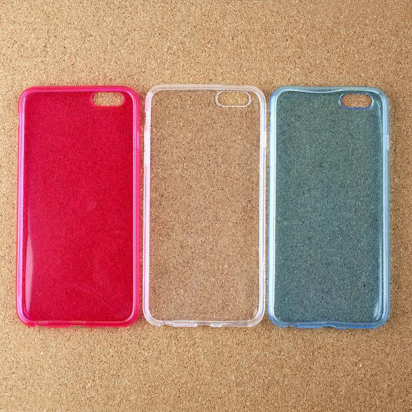 아이폰6plus젤리케이스 투명젤리케이스 휴대폰 상품이미지