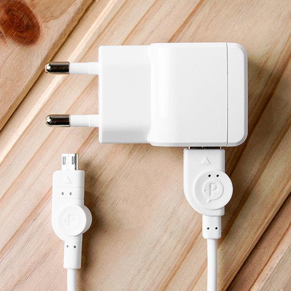마이크로 5핀 USB 스마트폰 충전기(분리형) 상품이미지