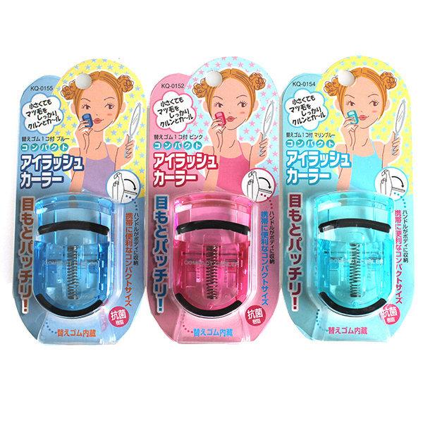 일본 카이 컴팩트 아이뷰러 휴대용비후라 눈썹정리 상품이미지