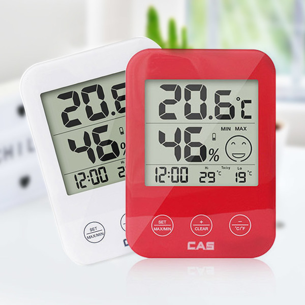 카스 디지털 온습도계 T004 아이콘표시 온도계 상품이미지
