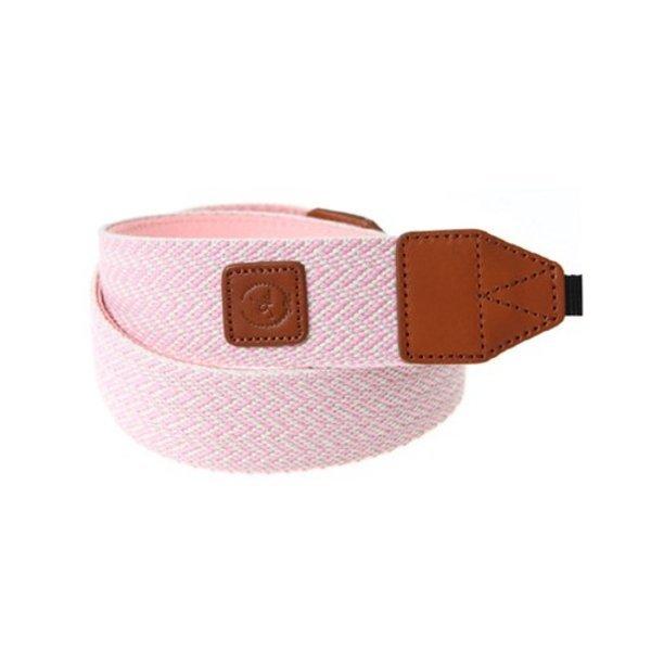 앨리스스트랩 - 빗살무늬 (핑크)-오마케 상품이미지