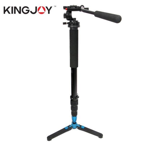 (KINGJOY)  정품  킹조이 MP-1358A(4008)블랙+KH-6750 비디오 모노포드 비디오 헤드 세트 상품이미지