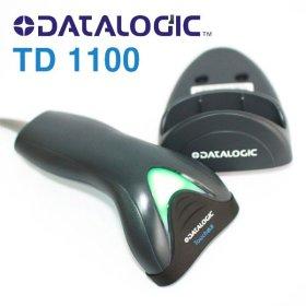(데이타로직(DATALOGIC)) DATALOGIC TD1100 CCD 바코드스캐너 블랙 [USB] / 거치대 포함