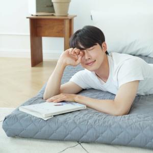 [리브맘]기절 매트리스 침대 접이식 바닥 토퍼 수면매트