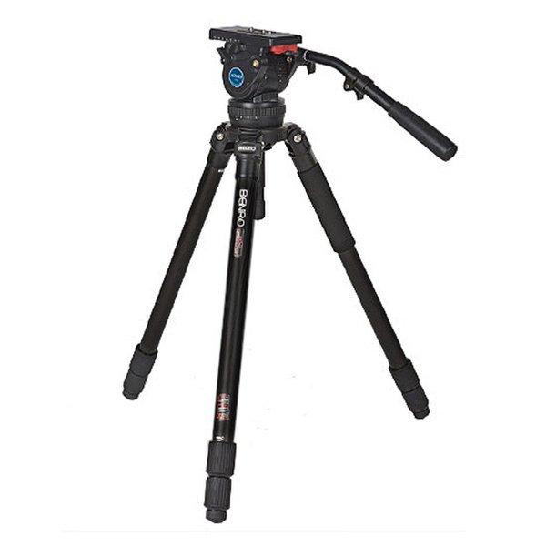 (BENRO)  정품  벤로 A474TH10 알루미늄 비디오 삼각대 + 비디오 유압헤드 세트 상품이미지
