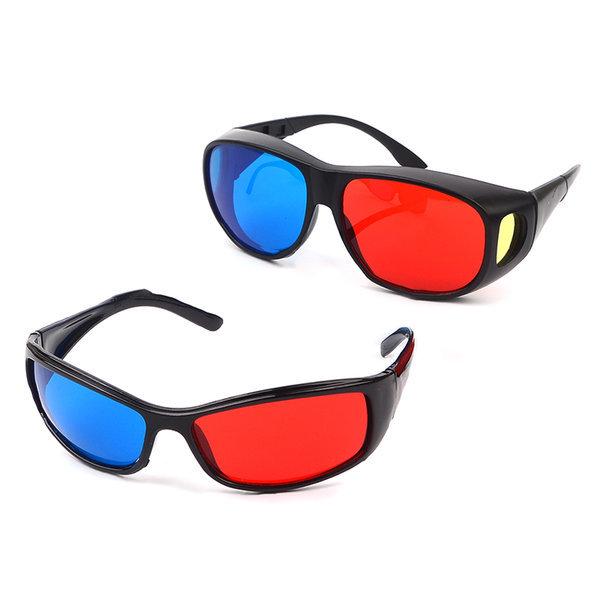3종) 3D 입체안경 적청 에너글리프 영화 동영상 영상 상품이미지