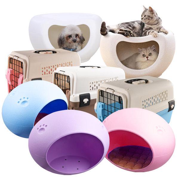 코쿤 애견하우스 강아지집 개집 고양이 캐리어 이동장 상품이미지