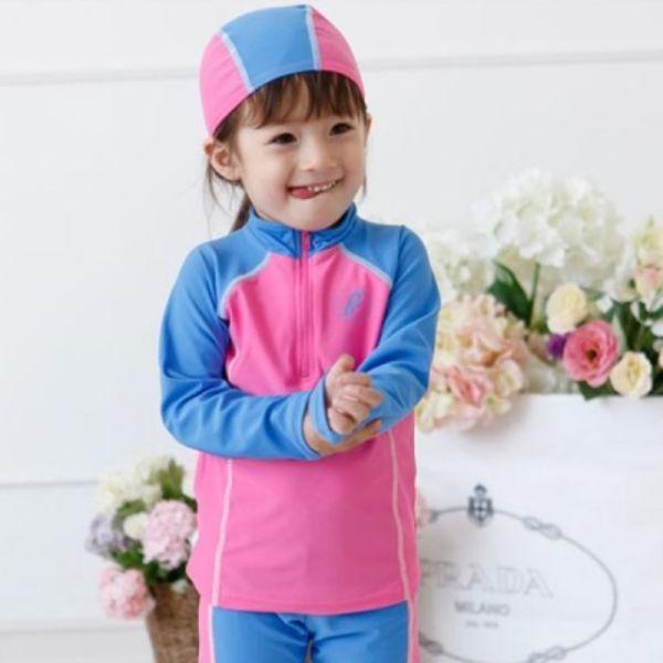 시원한 래쉬가드 핑크 3종세트(1-10세) 202710 상품이미지