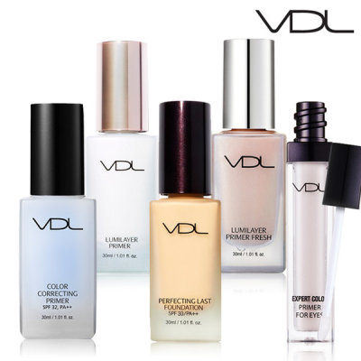 VDL Lumilayer primer / color correcting primer / perfecting last foundation / real skin foundation
