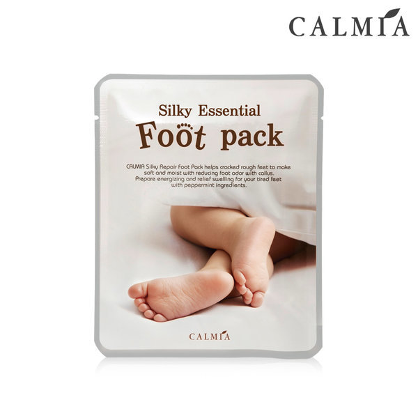 CALMIA 실키 에센셜 풋팩 x1개 -발보습마스크팩 상품이미지