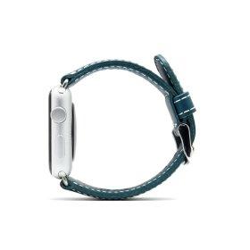 (SLG Design) D6 애플워치 가죽 스트랩 밴드 블루