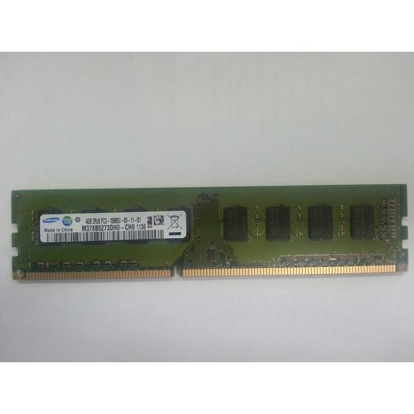 삼성전자/ DDR3 4G-10600 / 양면/ PC용/무상5개월보증 상품이미지