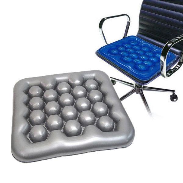 공기방석 물방석 욕창방지 휠체어방석 등쿠션겸용 상품이미지