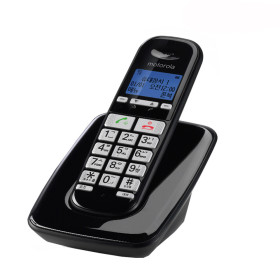 모토로라 S3001A 블랙 무선전화기 한글번호저장 100개