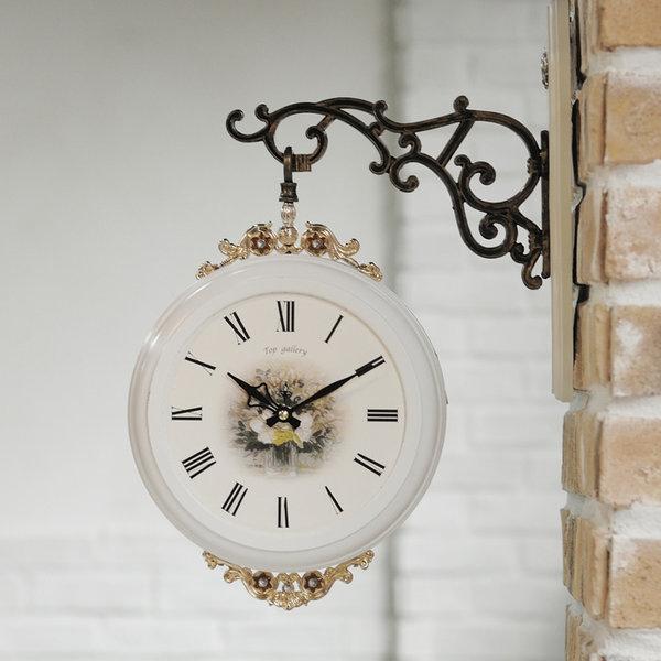 양면시계/부엉이/양면벽시계/엔틱벽시계/벽걸이시계 상품이미지