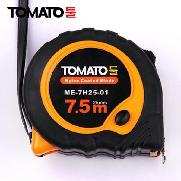 줄자 7.5Mx25mm TOMATO툴 자동줄자 수동줄/diy공구/목공구/충전드릴/공구함/콤프레샤/고압세척기/안전용품/모든것~ 상품이미지