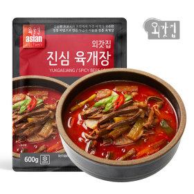 외갓집 진심 육개장 600gx6팩 격이다른 국가대표육개장
