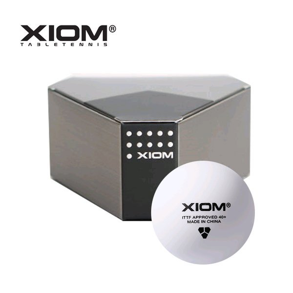 엑시옴 ITTF 경기용 40+심리스 탁구공(3입)플라스틱볼 상품이미지