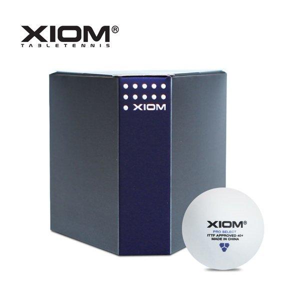 엑시옴 PRO-SELECT 경기용 탁구공(6개입) 공식 인증볼 상품이미지