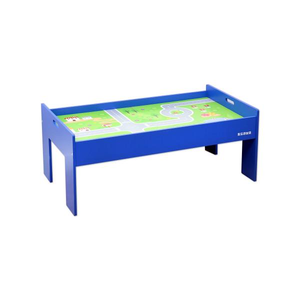 플레이 테이블 블루 기차테이블 상품이미지
