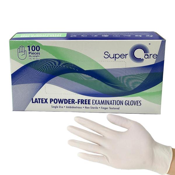 Super Care 슈퍼케어 라텍스장갑 S 100개입 1개 상품이미지