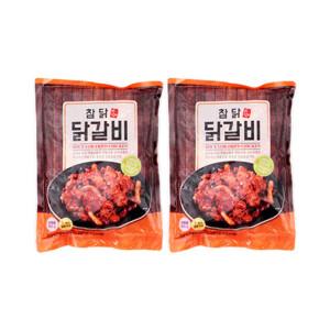 참닭 춘천 닭갈비 700g+700g/찜닭/갈비/양념육