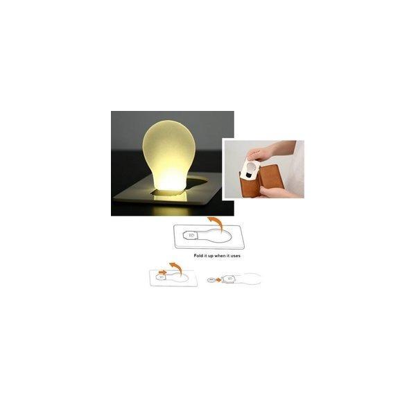 당일배송-포터블 LED 카드 포켓 전구 램프 상품이미지