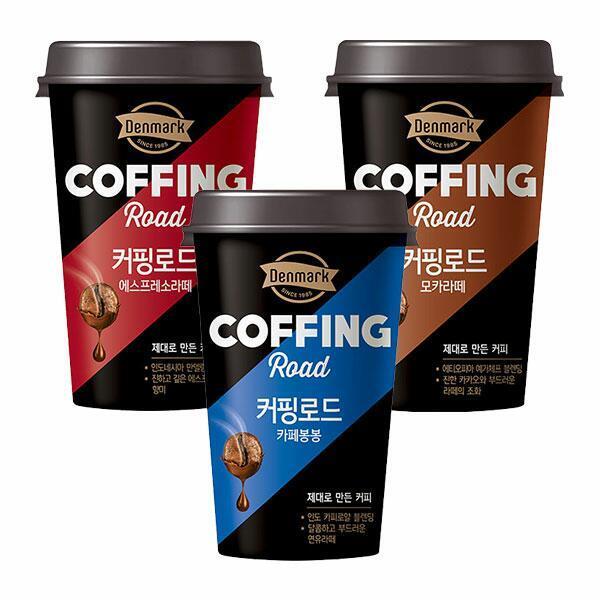 (현대Hmall) 동원  커핑로드 300mlX24개 /컵 커피/라떼/덴마크 상품이미지