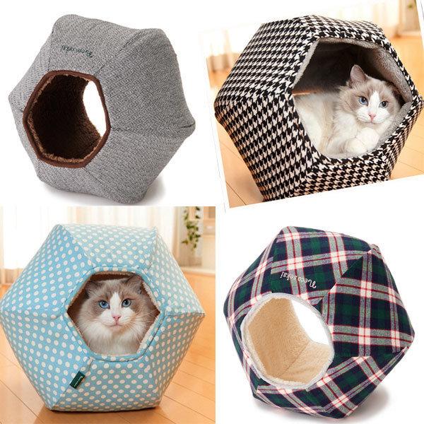 도그씨 네코세카이 캣볼하우스 고양이하우스 상품이미지