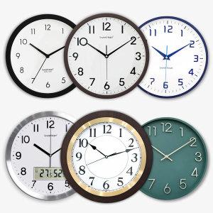 [스위트하트]무소음 모던 벽시계 모음 /인테리어/벽걸이시계
