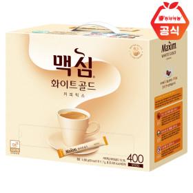 맥심 모카골드400T/화이트/커피믹스/맥심커피