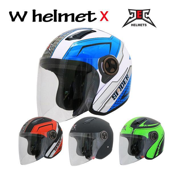 JEC HD 537 오픈페이스 초경량 오토바이 헬멧 상품이미지