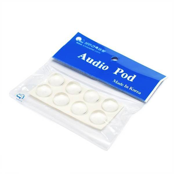 성민건축음향 오디오포드(AudioPod) 방진볼/방진고무(유리받침/고무발/진동흡수/소음방지/미끄럼방지/사... 상품이미지