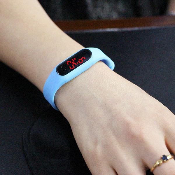 LED 스포츠 팔찌시계/판촉용 스포츠시계 젤리시계 상품이미지