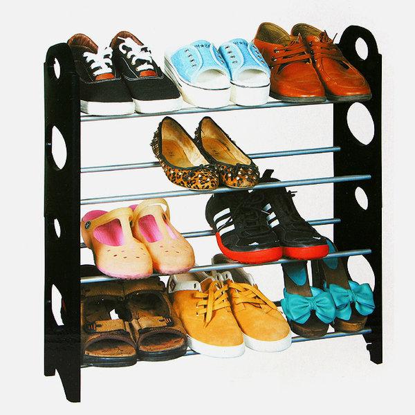 조립식 신발정리대(12켤레)/가구점사은품 조립신발장 상품이미지