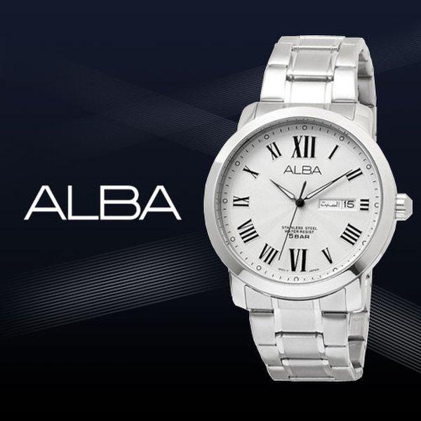 한국본사 삼정시계 공식업체 공식수입원正品 SEIKO ALBA 세이코알바 남성메탈시계 AT2019X1 상품이미지