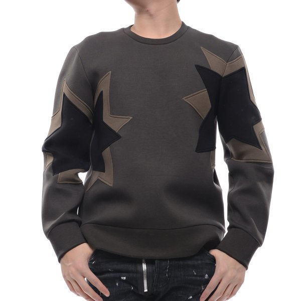 유니코   닐바렛  15F/W 남성 더블 스타 맨투맨 티셔츠 (BJS22G C3572 1419 15F) 상품이미지