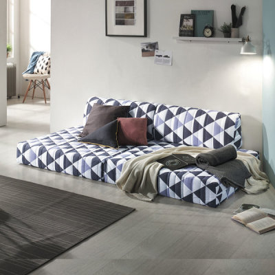 Foldable sofa bed freely utilize the space mattress