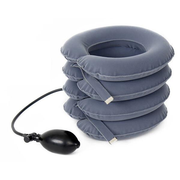 4단/디스크잭/목견인기/목디스크견인기/경추보호대 상품이미지